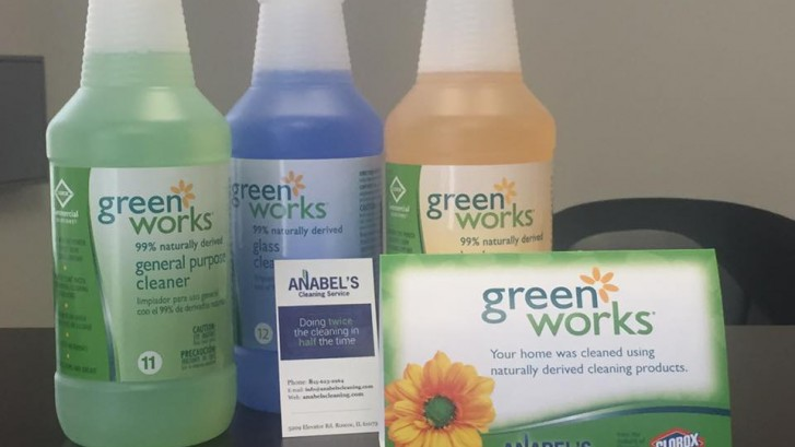 green works cleaning